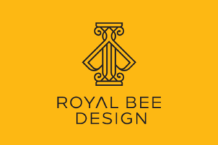 LOGO ROYAL BEE DESIGN