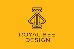 LOGO ROYAL BEE DESIGN
