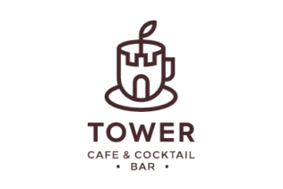 LOGO TOWER CAFE & COCKTAIL BAR